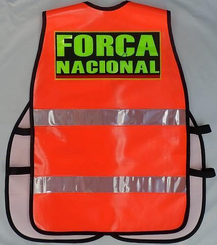COLETE REFLETIVO DA FORÇA NACIONAL DE SEGURANÇA